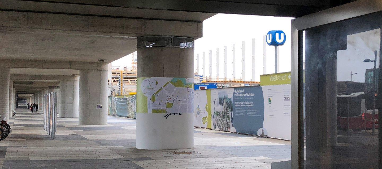 aspern Seestadt Plane U-Bahn Trasse