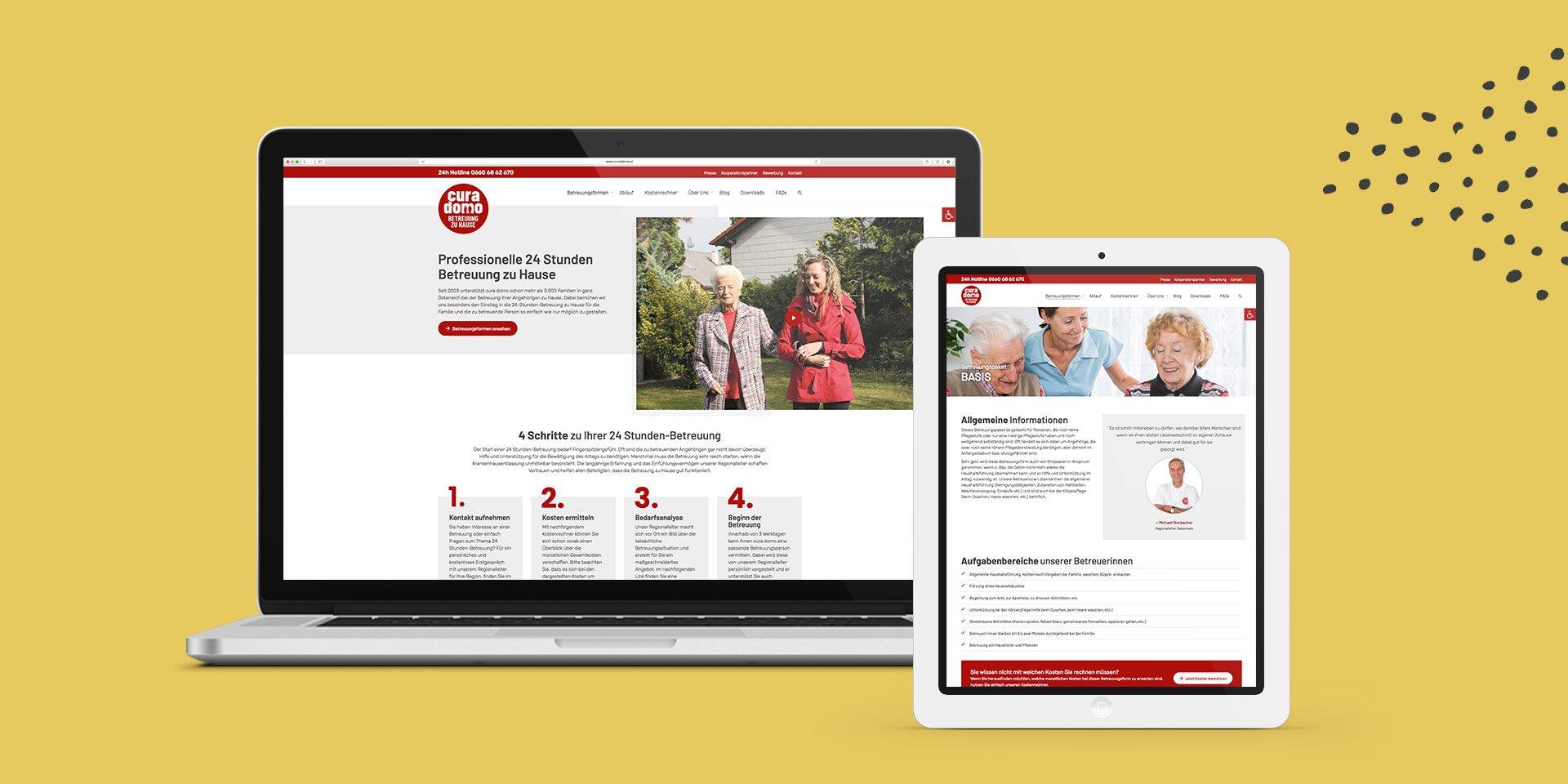 Website curadomo Collage