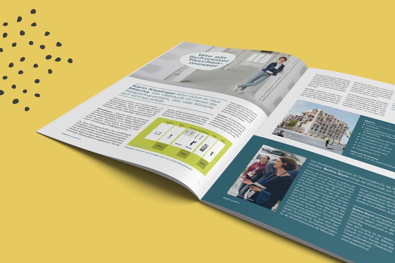 aspern Seestadt | Magazin Workflow offen