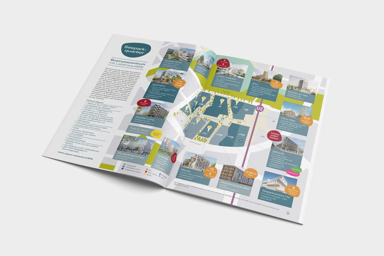 aspern Seestadt | Magazin Workflow offen Plan