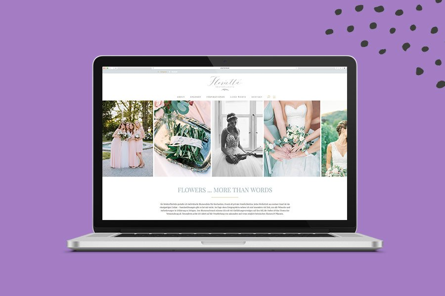Website Florietta Overview