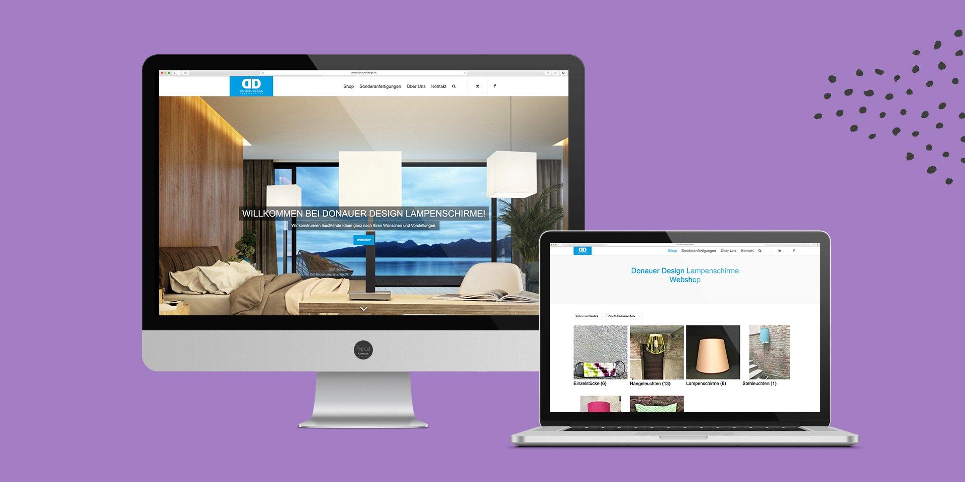 Donauer Website Collage