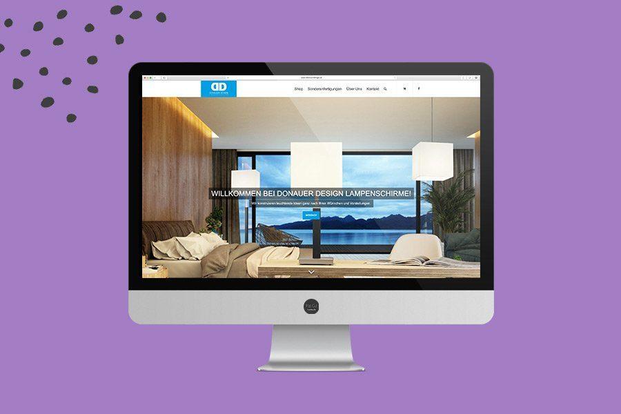 Donauer Website Übersicht