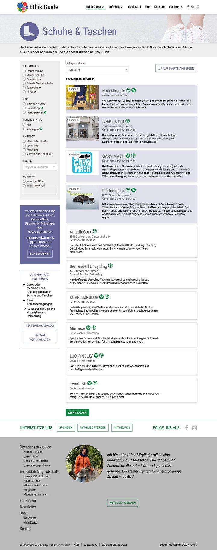 Ethik.Guide Website Screenshot