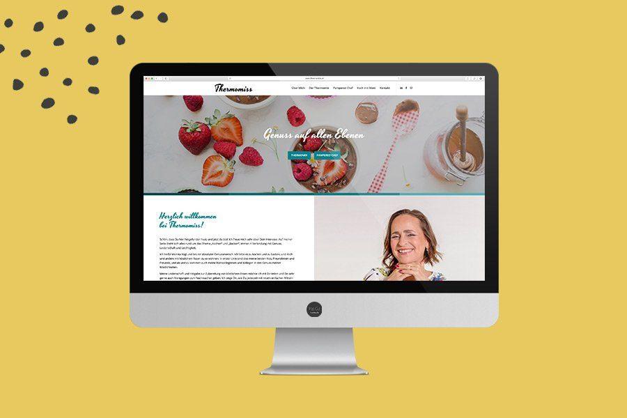 Thermomiss Website Überblick
