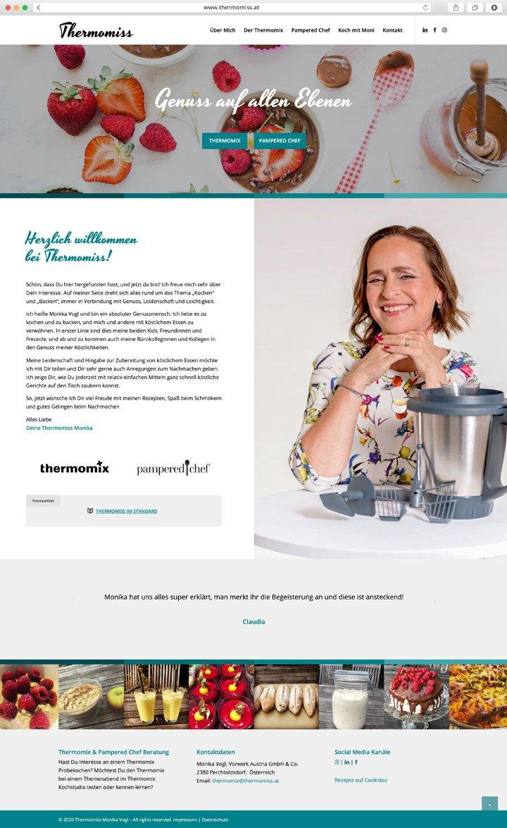 Thermomiss Website Screenshot