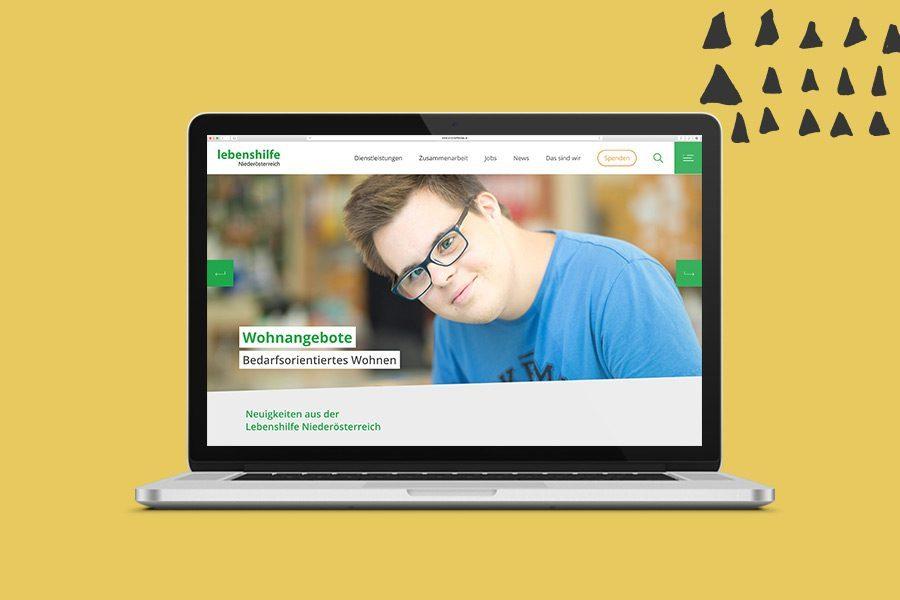 Lebenshilfe Website Overview