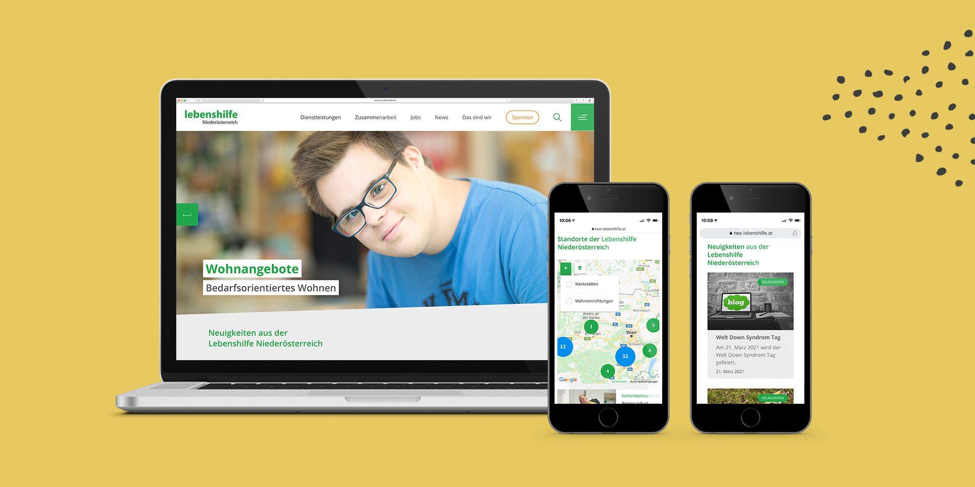 Lebenshilfe Website Detail